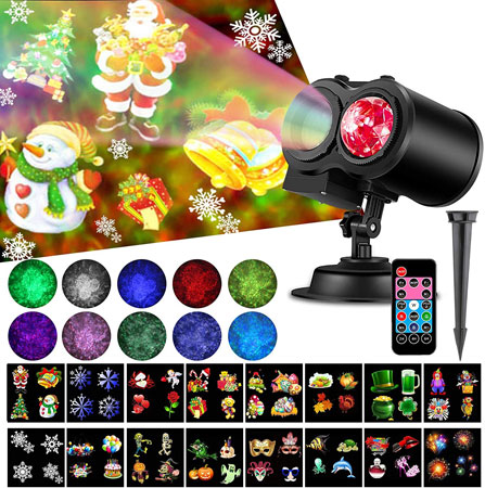 Elec3 Ocean Wave Christmas Projector Lights