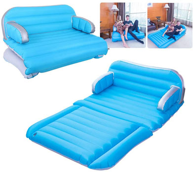 QDH air Mattress Inflatable Couch Home Air Sofa Bed