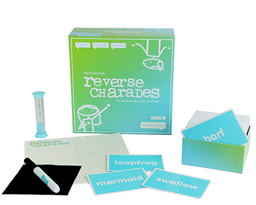 Reverse Charades Board Game - Fun & Hilarious Family Games