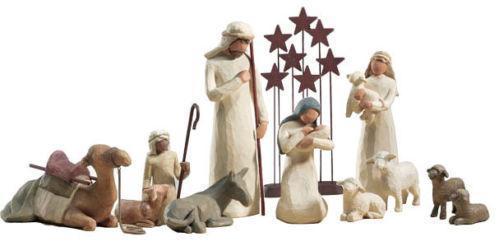 Willow Tree Nativity Set
