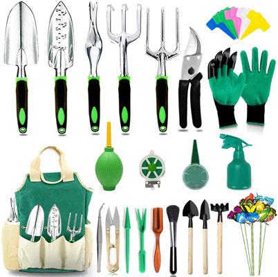 AOKIWO 51 Pcs Garden Tools Set