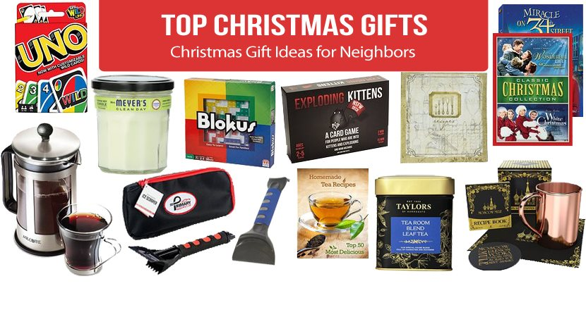Best Christmas Gift Ideas for Neighbors 2019
