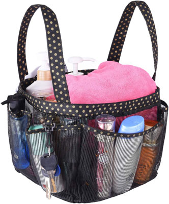 Haundry Mesh Shower Caddy Portable for College