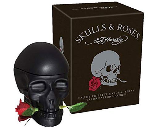 Skulls and Roses ED Hardy Colognes for Men