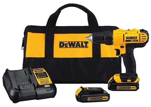 Dewalt DCD771C2 Compact Drill Driver Kit