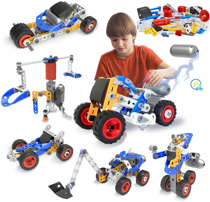 Engineering Building Blocks Set Toys for Boys and Girls