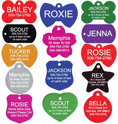 GoTags Pet ID Personalized Pet Tags