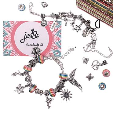 JustBe Charm Bracelet Making Kit DIY