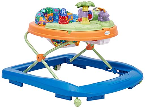 Safety 1st Dino Sounds n Lights Discovery Baby Walker with Activity Tray