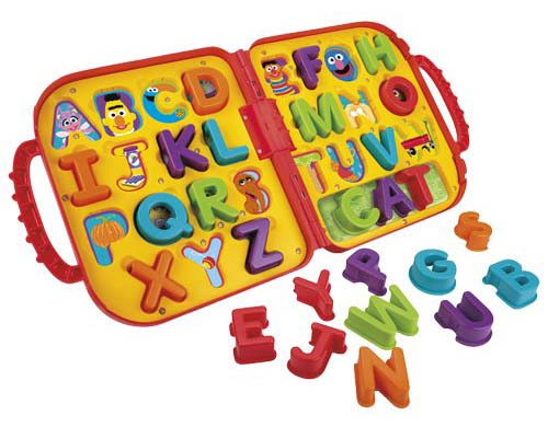 Sesame Street Elmo's On the Go Letters