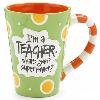 Teacher 12 oz Coffee Mug