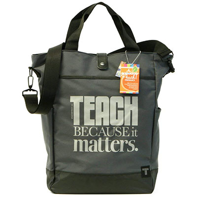 Teacher Peach Commuter Tote Bag