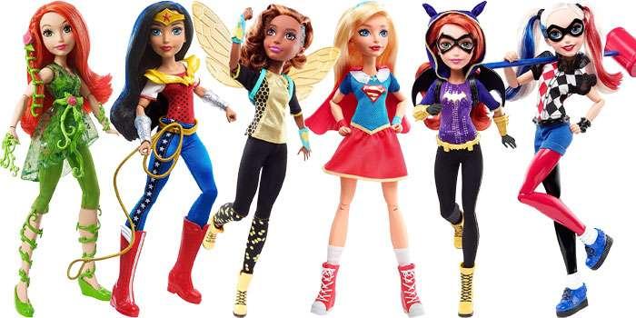 """DC Super Hero Girls 12"""" Actions Dolls"""