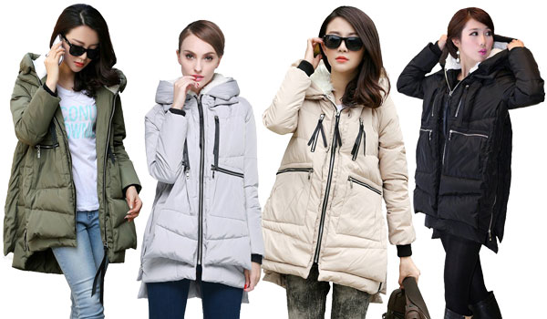 Down Jacket: Orolay Women's Thickened Down Jacket