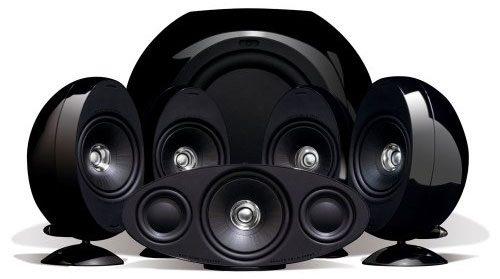 KEF KHT3005BL (SE) 5.1 Home Theater Speaker System