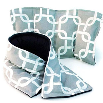 Microwave Heating Pad Neck Wrap and Rice Pack