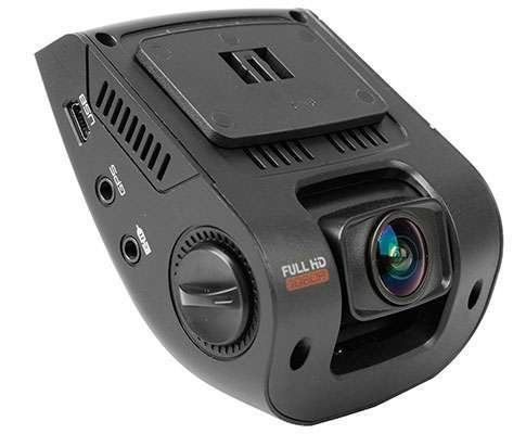 Rexing wide angle Dashboard Camera with V1 2.4 inch LCD FHD 1080p and a G-Sensor, WDR, with Loop Recording