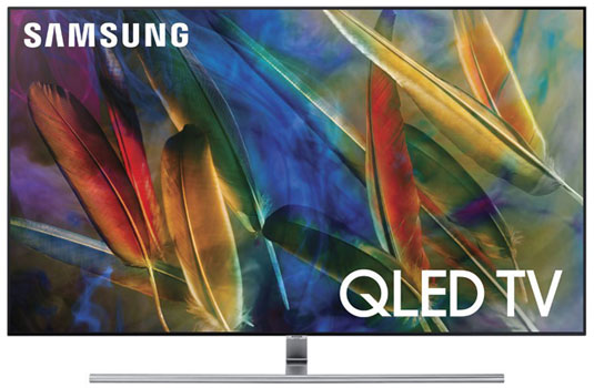 Samsung Electronics QN55Q7F 55-Inch 4K Ultra HD Smart QLED TV