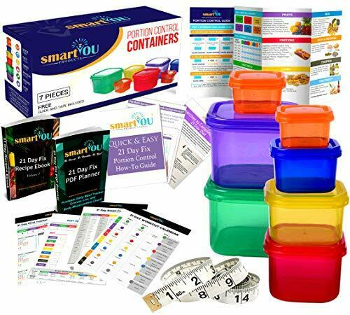 smartYOU Products 21 Day Portion Control Containers Kit