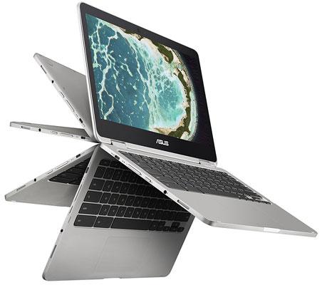 ASUS Chromebook Flip C302CA-DHM4 12.5-Inch Touchscreen Intel Core