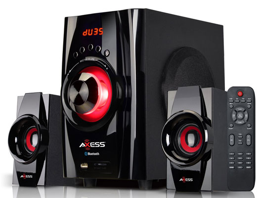 AXESS Bluetooth Mini System 2.1-Channel Home Theater
