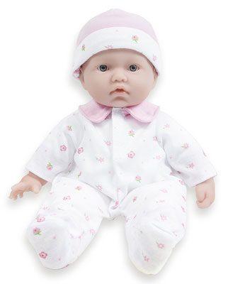 La Baby 11-inch Washable Soft Body Play Doll