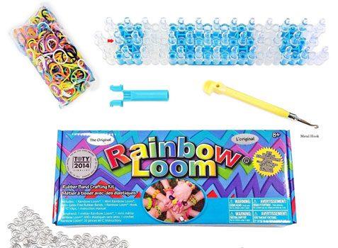 Rainbow Loom Crafting Kit includes Loom