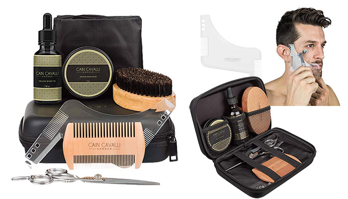 Cain Cavalli 8 in 1 Beard Grooming Kit