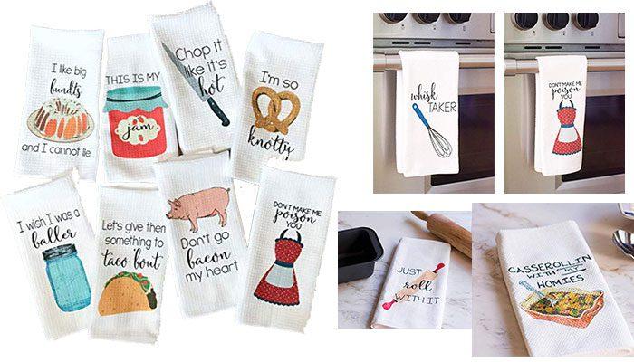 Funny Kitchen Tea Towel