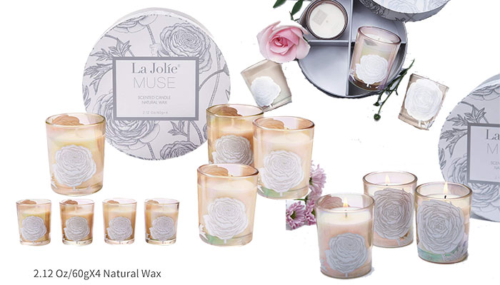 LA JOLIE MUSE Scented Candle Gift Set