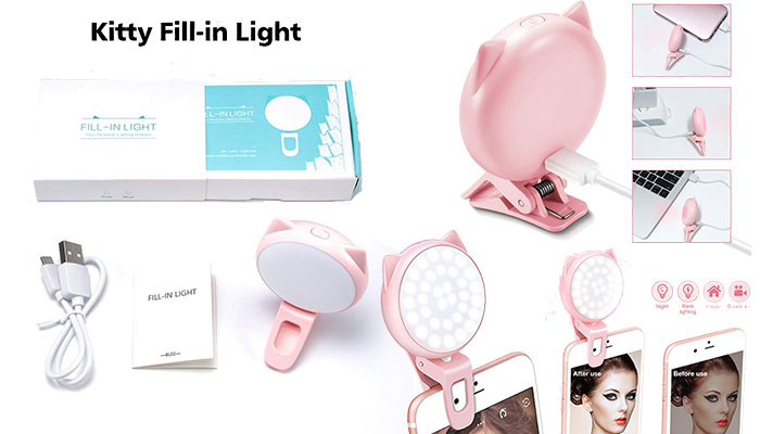 OURRY Selfie Ring Light for Camera