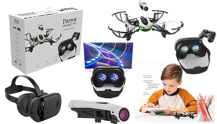 Parrot Mambo Drone with FPV - Complete Starter Pack