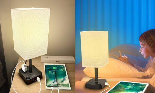 COZOO USB Bedside Table & Desk Lamp