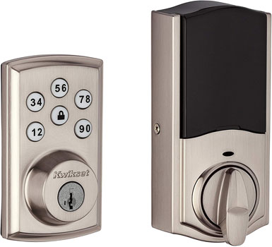 Kwikset Smart Lock Touchpad Electronic Deadbolt Door Lock