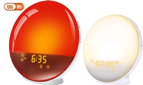 LATME Sunrise Alarm Clock Wake Up Light Works