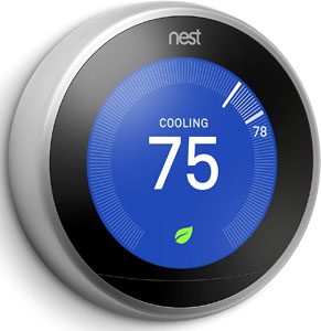 Nest T3007ES Learning Thermostat