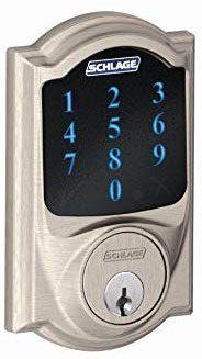 Schlage Z-Wave Connect Camelot Touchscreen Deadbolt